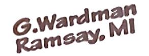 G. Wardman Knives